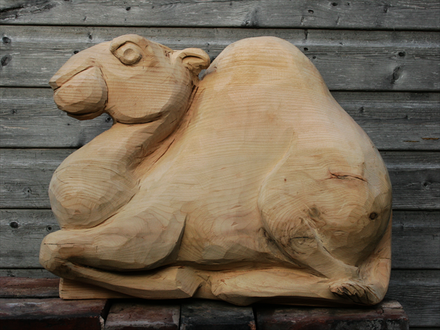 Anthony Hammond Carved camel