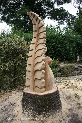 Carved Fern
